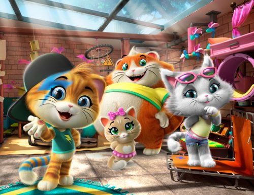 La serie animata 44 gatti arriva in home video