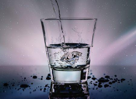 L'importanza di bere acqua durante la giornata