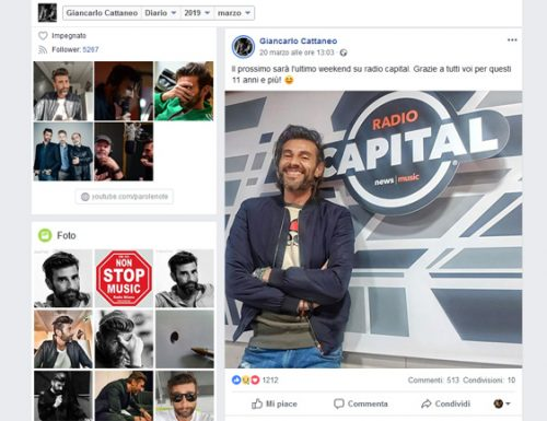 Giancarlo Cattaneo lascia Radio Capital per M2o