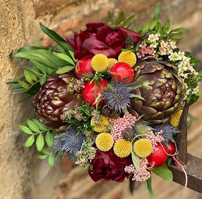 Il bouquet al matrimonio civile dei Pozzolis