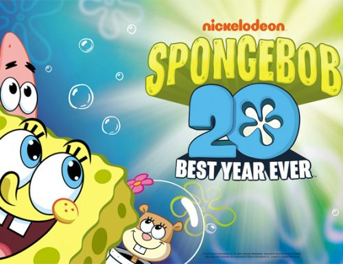 Spongebob compie 20 anni: grande festa al Giffoni Film Festival