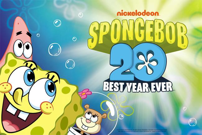 Spongebob compie 20 anni
