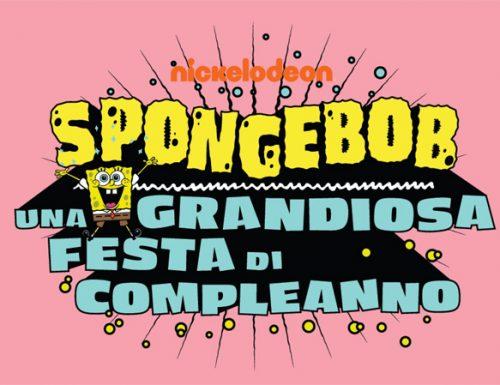 SpongeBob, una grandiosa festa di compleanno
