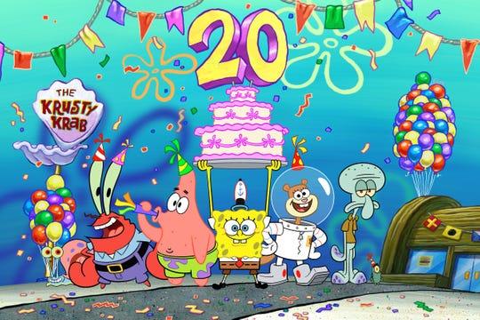 20 anni di SpongeBob