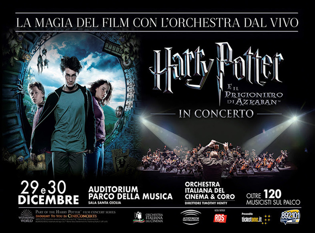 Harry Potter e il prigioniero di Azkaban in concerto