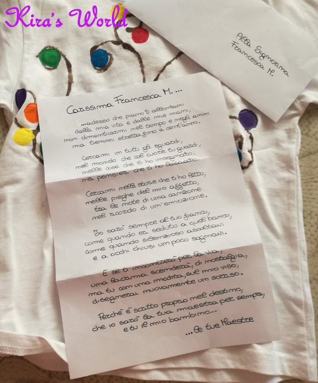 Lettera delle maestre