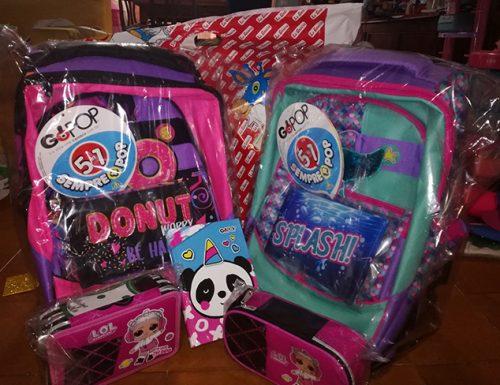 Gopop, zaini e trolley per la scuola