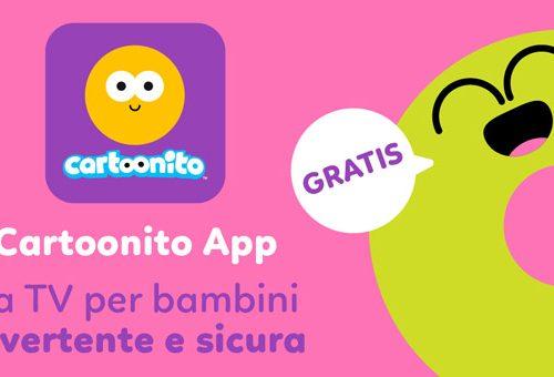 Cartoonito App, l'applicazione gratuita per i bambini