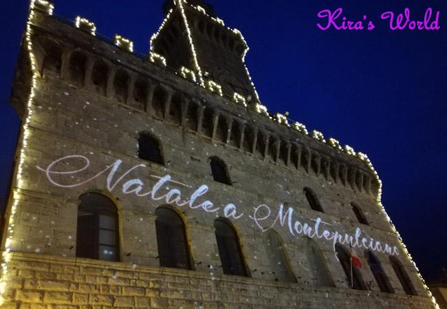 Natale a Montepulciano: la piazza