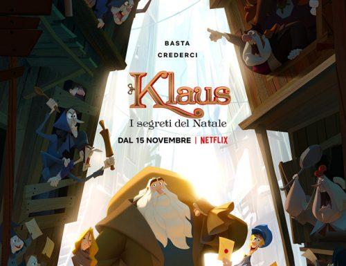 Klaus, il film su Babbo Natale di Netflix