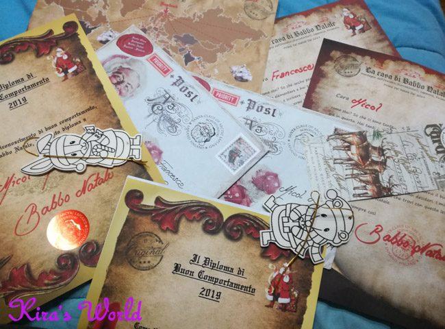 La gioia del ricevere la lettera da Babbo Natale