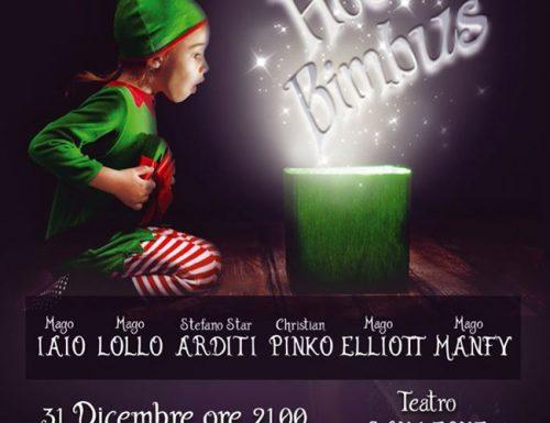 Hocus Bimbus, il gran galà di magia per il Capodanno 2020