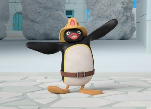 Pingu in 3D arriva su Cartoonito