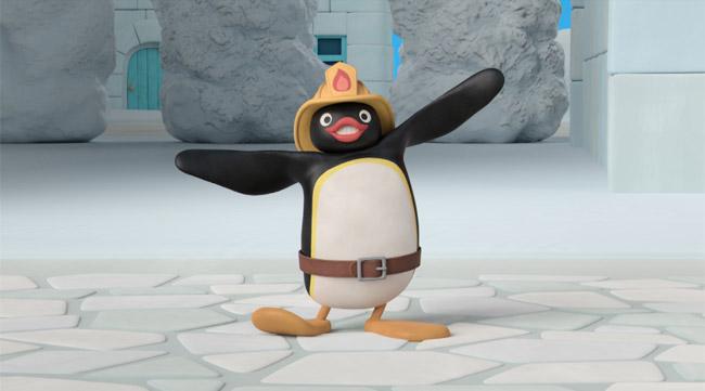 Pingu in 3D