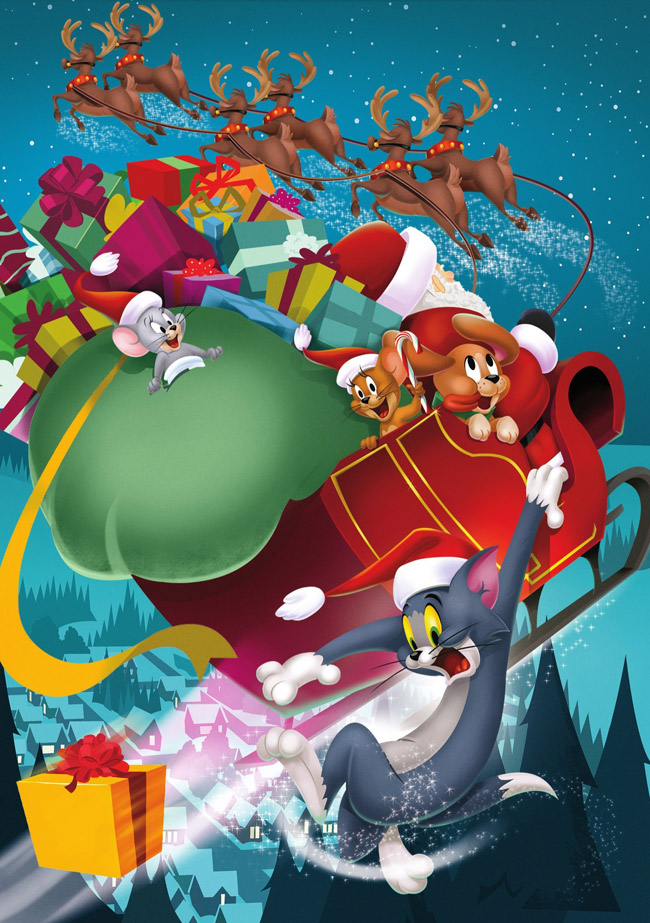 Tom&Jerry Piccoli aiutanti di Babbo Natale