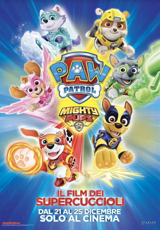 Il film dei Paw Patrol al cinema