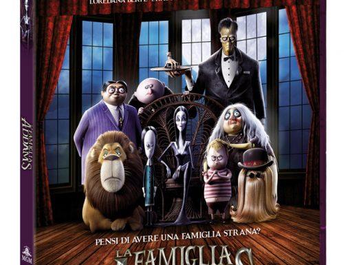 La Famiglia Addams arriva in Home Video