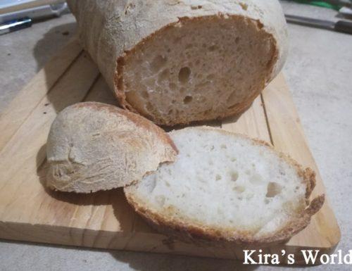 Filone di pane con farina 0, la ricetta