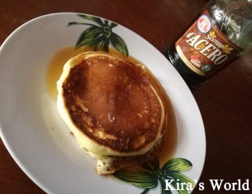 Pancake con sciroppo d'acero: la ricetta