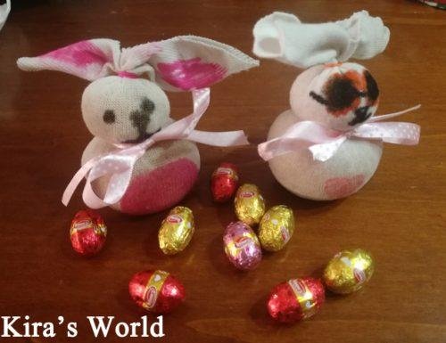 Come fare un coniglietto di Pasqua con un calzino