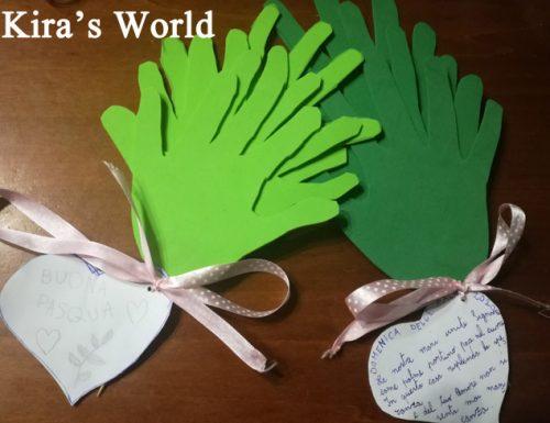 Ramoscello di palme, lavoretto per bambini