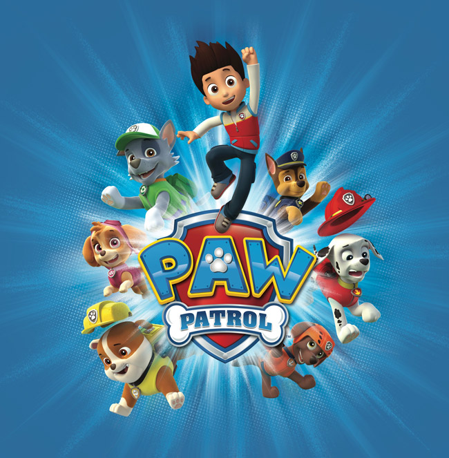 Paw Patrol Pop -Up Channel