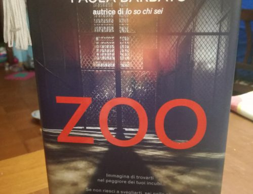 Zoo di Paola Barbato, il secondo romanzo della trilogia