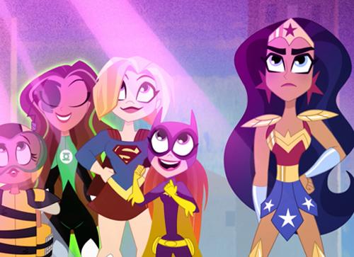 Dc Super Hero Girls arriva su Boing