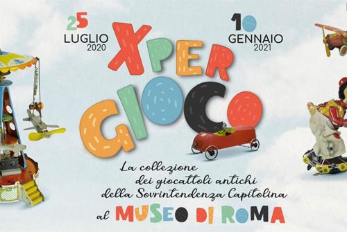 Per Gioco, la mostra sui giocattoli antichi a Roma