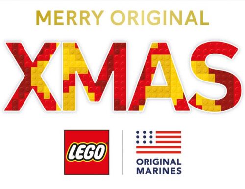 Merry Original, la promozione di Natale di Original Marines e Lego