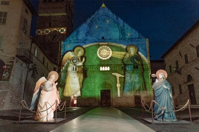Proiezioni ad Assisi