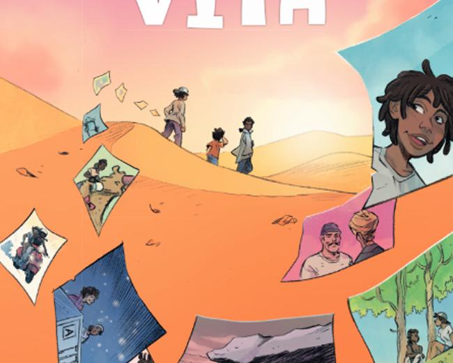 I colori di una nuova vita, la graphic novel