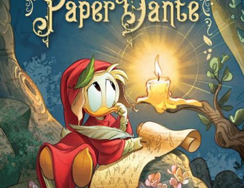 PaperDante, il libro con Topolino e Paperino che celebra Dante