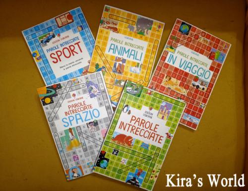 Parole intrecciate, i libri gioco per bambini di Usborne Editore