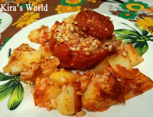 Pomodori al riso, la ricetta completa