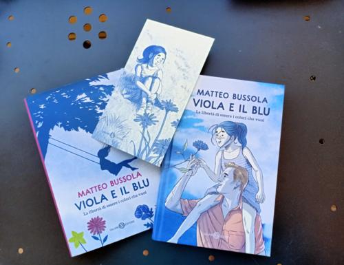 Viola e il Blu, il libro di Matteo Bussola