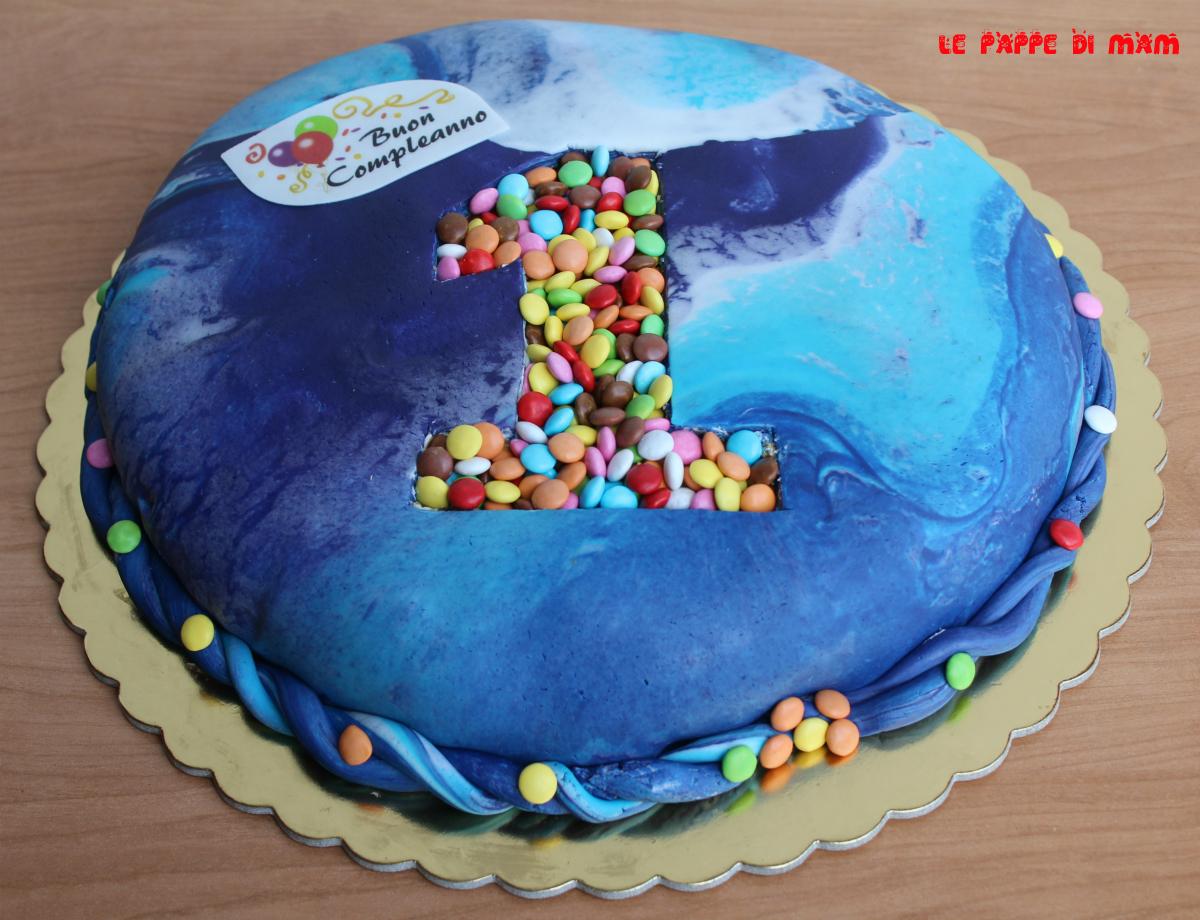 Torta 1 Anno Con Pasta Di Zucchero