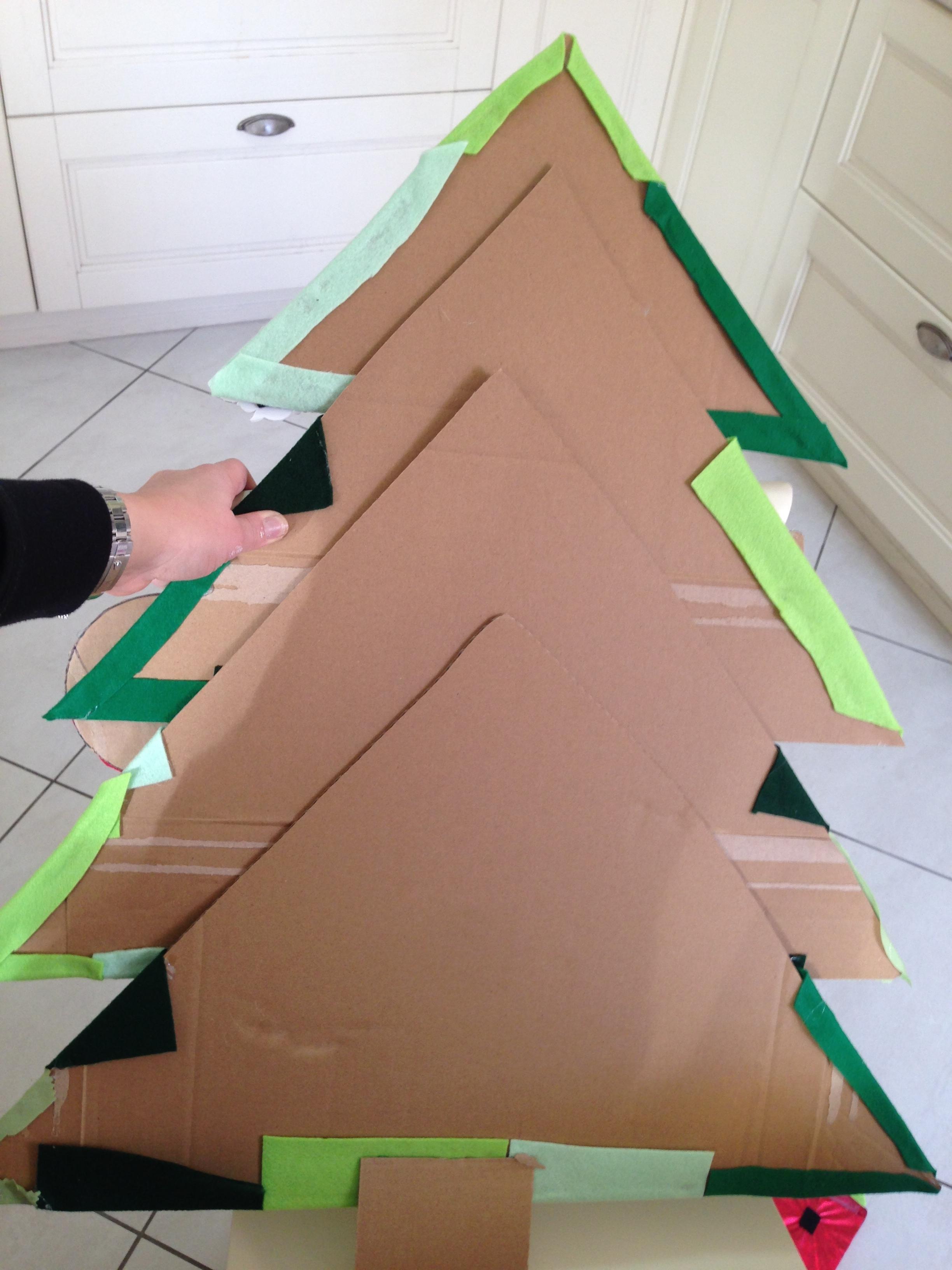 Amato Albero di Natale in feltro - per bambini piccoli | MammAcs MF87