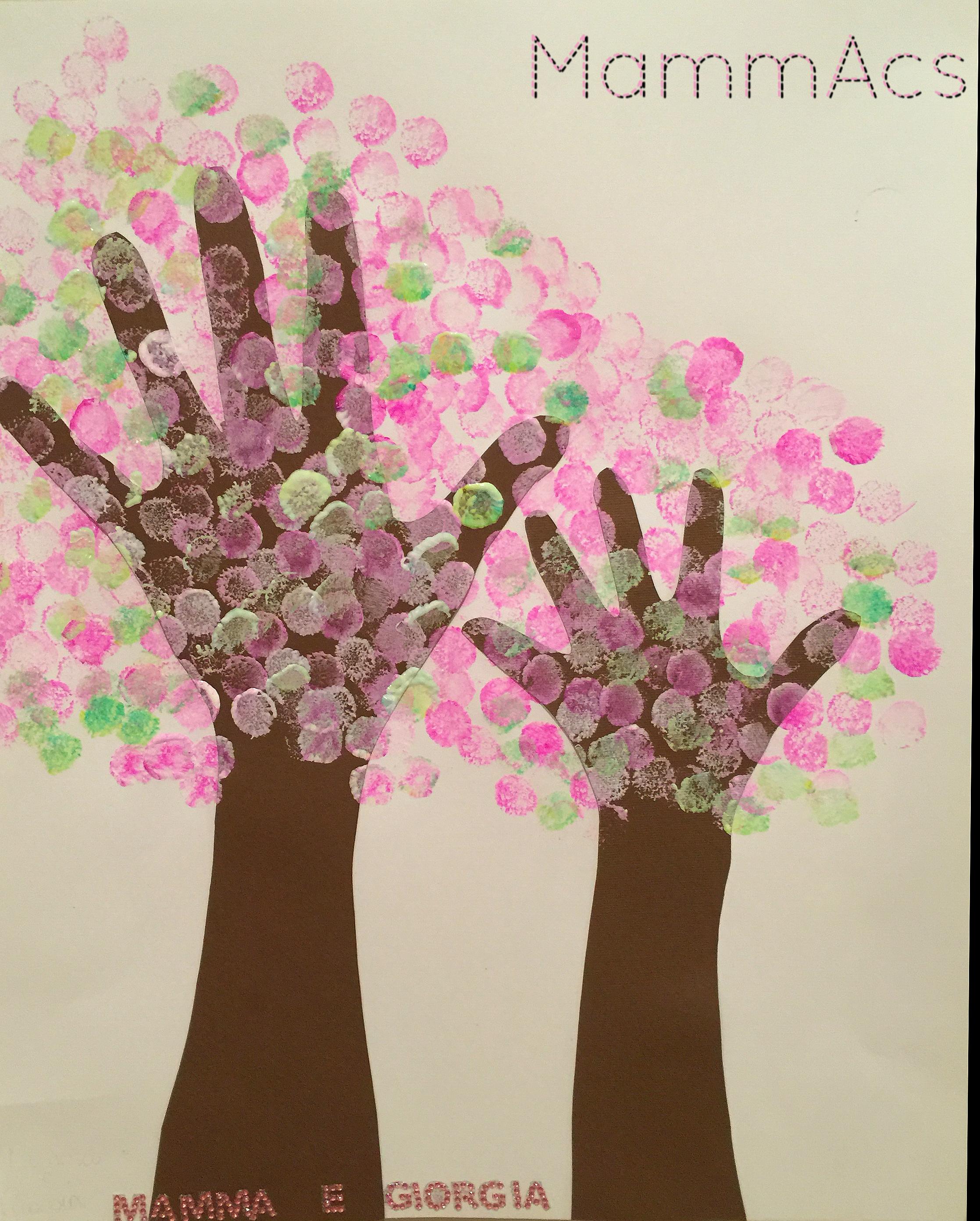 mani in fiore