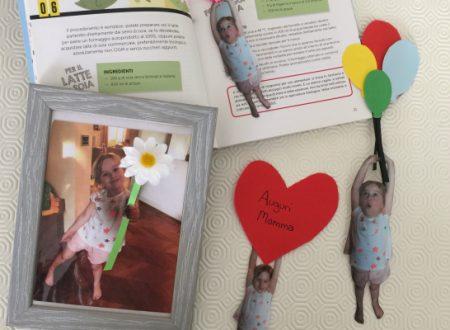 Segnalibri calamite e cornice 3D per la festa della mamma
