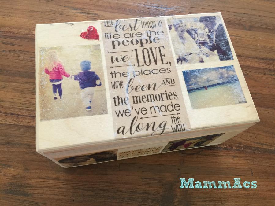 scatola foto