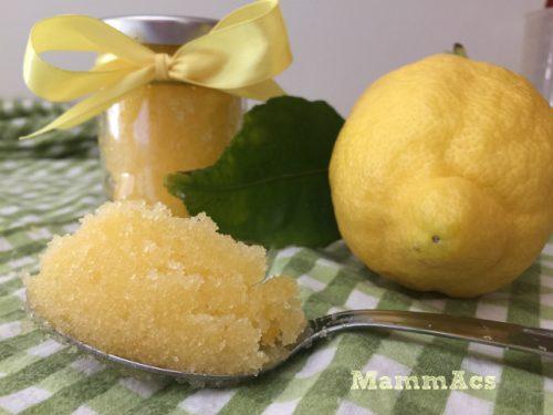 Scrub mani – limone e lavanda
