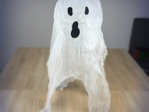 Decorazioni di Halloween – fantasma di garza