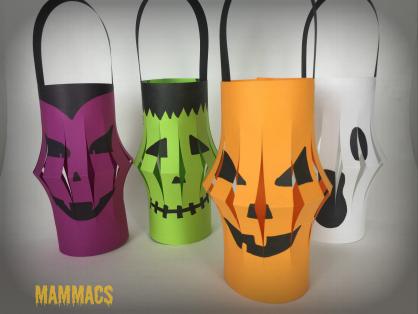 E Car >> lavoretto Halloween- lanterne di carta | MammAcs