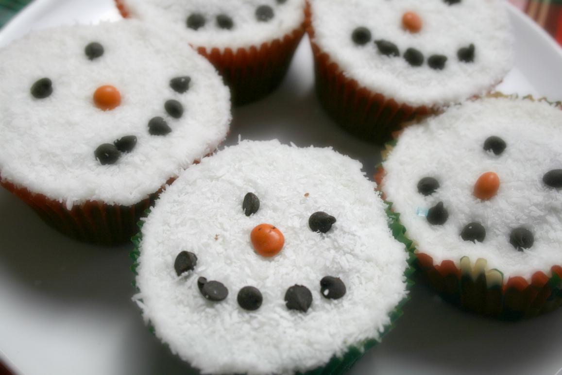 cupcakes-pupazzi-di-neve