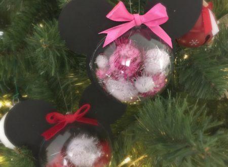 Sfere di Natale topolino e Minnie