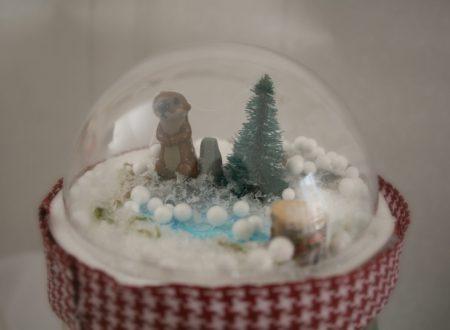 Barattolo con sfera di neve