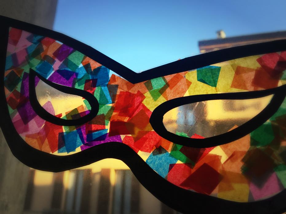 nuovi prodotti caldi foto ufficiali comprare reale Lavoretto di carnevale – mascherine cattura luce