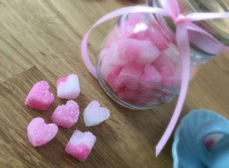 Cuoricini di zucchero – come creare delle zollette di zucchero a forma di cuoricino in pochi minuti!