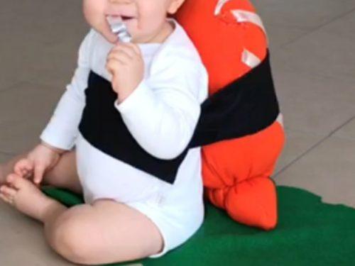 Costume da sushi – per bambini piccoli